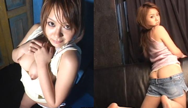 暗黑FUN一下-[日本] 夏川RUI套圖 穿著清涼服裝,私處若隱若現快讓攝影師忍不住了!